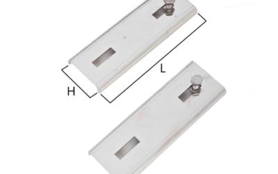 CPR50/CPR100 coppia di prolunghe per staffa a muro