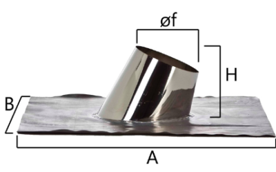 FAINP faldale con base per tetti inclinati