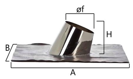 FAINP faldale con base per superamento e protezione manto tetti inclinati