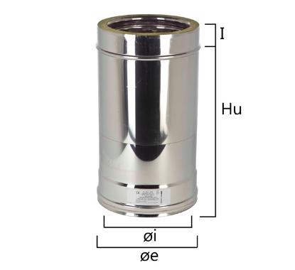 I2ET tubo a sezione circolare H variabile