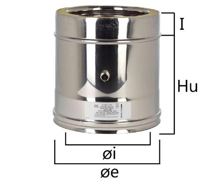 I2PF elemento per inserimento sonda test fumi