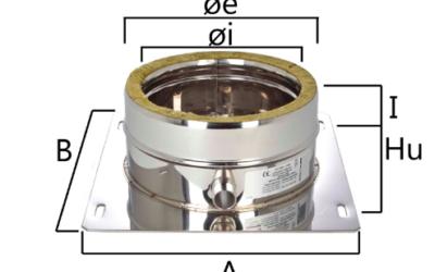 I2PP piastra di partenza con scarico condensa laterale