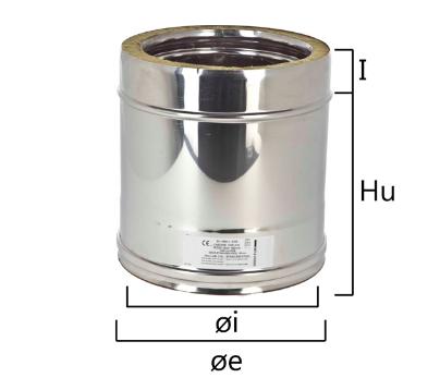 I2T2 tubo a sezione circolare con H nominale 250 mm
