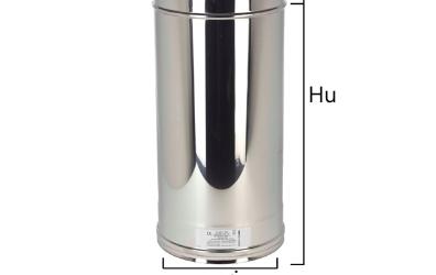 I2T5 tubo a sezione circolare con H nominale 500 mm