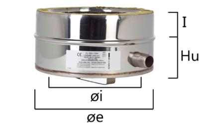 I2TL scarico di condensa laterale