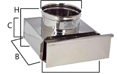 MCIN cassetta terminale per raccolta incombusti