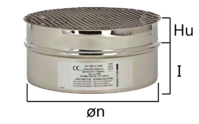 MGA griglia di adduzione aria con innesto circolare maschio