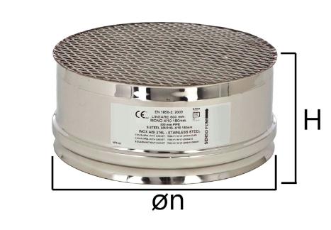 MGA F griglia di adduzione aria con innesto circolare femmina