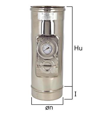 MICN elemento per inserimento sonda test fumi e temperatura