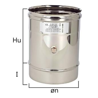 MPF elemento per l'inserimento sonda test fumi