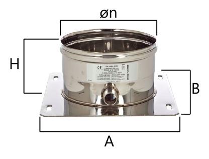 MPP piastra di partenza con scarico condensa laterale