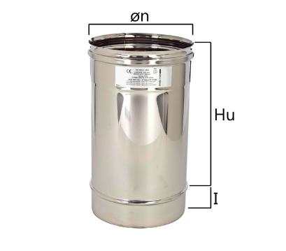 MT3 tubo a sezione circolare H nominale 330 mm