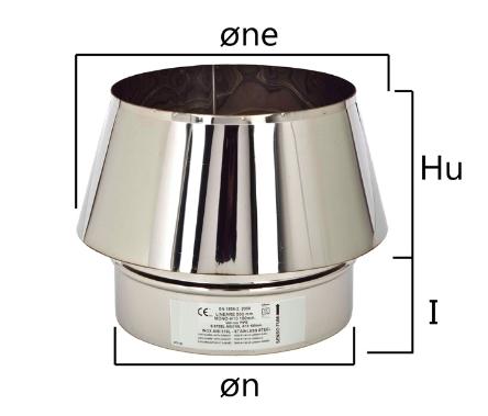 MTO cappello terminale tronco di cono