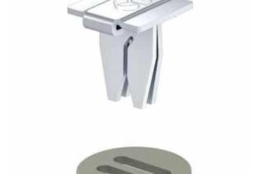 Funghetti in ferro zincato per il fissaggio dei deflettori su condotte in lamiera