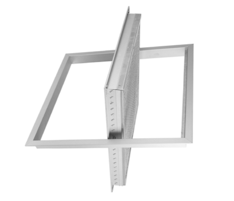 GRA-5 Griglie di aspirazione portafiltro ad alette fisse inclinate