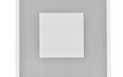 BQC Diffusori quadri forellinati, con piastra centrale
