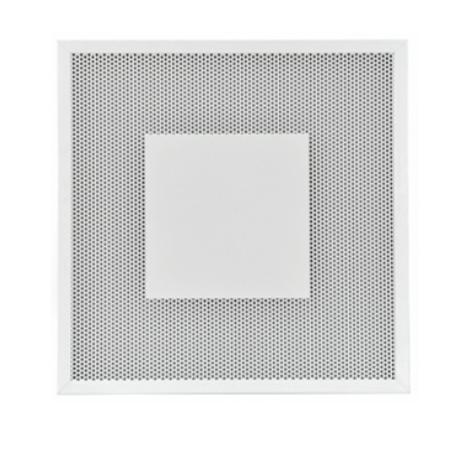 BQC Diffusori quadri forellinati con piastra centrale