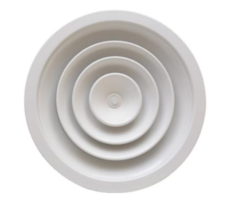 CFC Diffusori circolari a coni fissi con corpo centrale asportabile