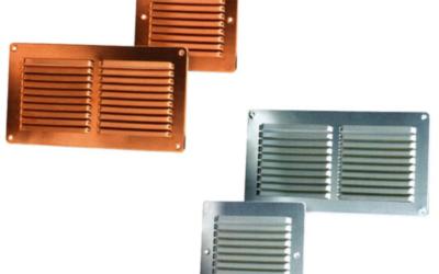 GQR/GQA Griglie da appoggio in rame e alluminio