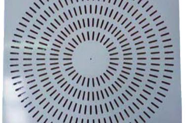 DAM71 diffusore su pannello quadro
