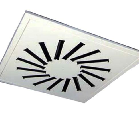 DAM61Diffusore ispezionabile su pannello quadro
