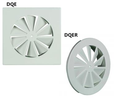 DQE/DQER Diffusore a geometria fissa