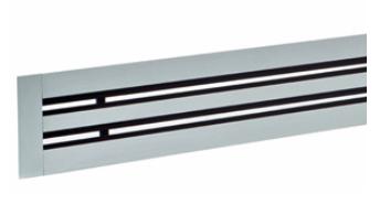 DLF Diffusori lineari a feritoie con deflettori standard