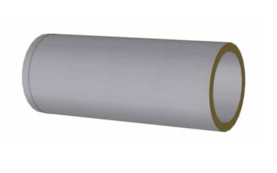 Condotti isolati sistemi di distribuzione aria in tessuto