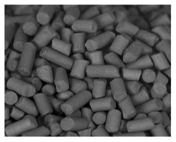 Carbone attivo in cilindretti