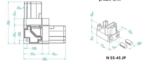 Profili sezione quadra