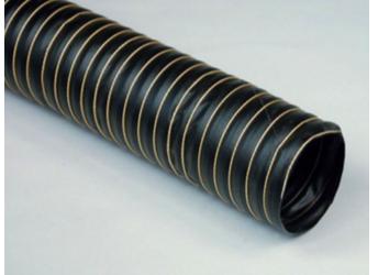 P8 Tubo flessibile realizzato con uno strato di tessuto in fibra di vetro spalmato di neoprene