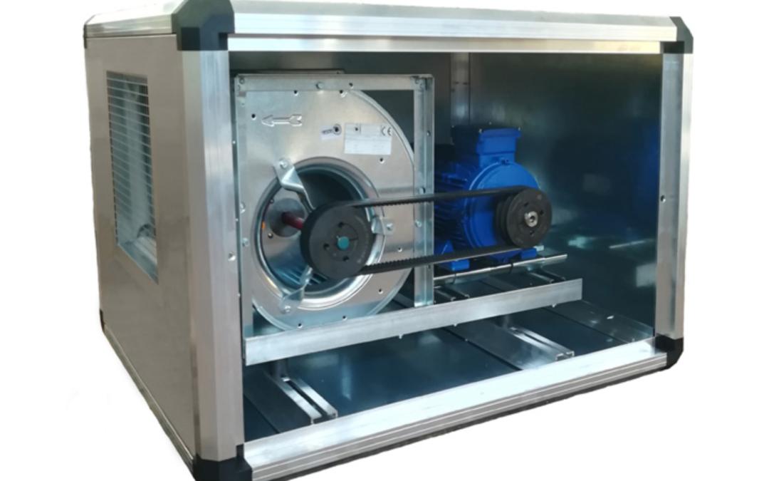 FBT Ventilatore centrifugo a semplice trasmissione cassonato