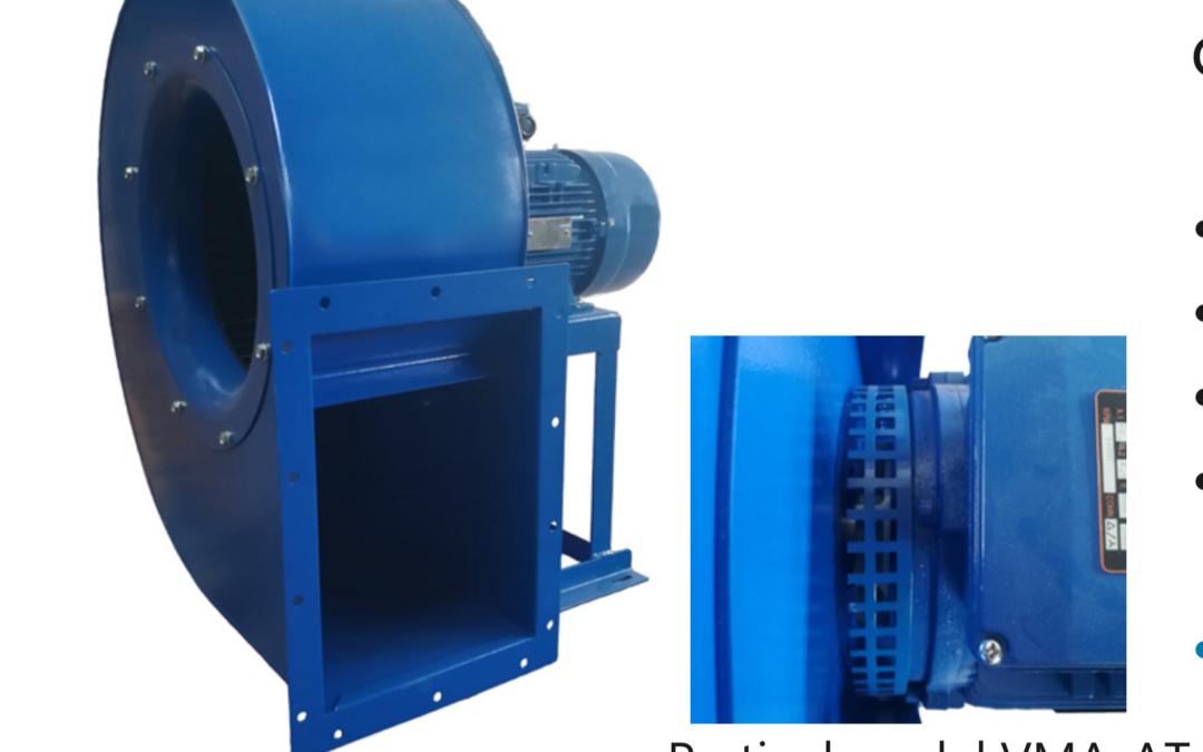 VMA / VMA-AT Ventilatore centrifugo a pale avanti a semplice aspirazione con motore direttamente accoppiato