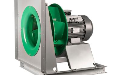 NTPF plug fan Ventilatore compatto senza cassa, con motore direttamente accoppiato.