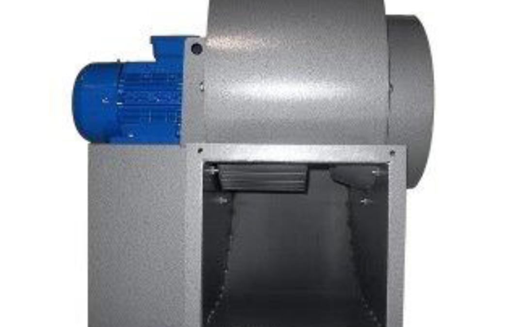 EP Ventilatore centrifugo a semplice aspirazione con sedia di supporto motore