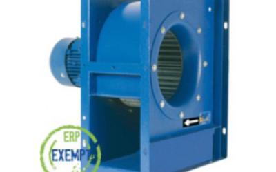 MBC/MBRC Ventilatore centrifugo a pale avanti (MBC) o rovesce (MBRC) con pressioni medie