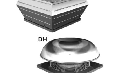 DV – DH aspiratori da tetto