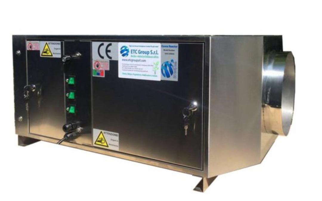 Generatore di ozono abbattitori fuliggine