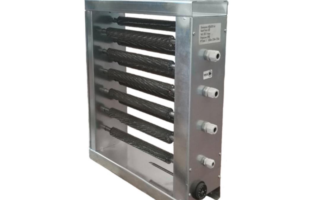 Batterie elettriche per il riscaldamento dell'aria negli impianti canalizzati