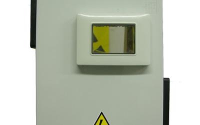 Box in PVC per il contenimento degli invertir tipo DELTA